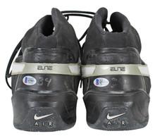 Kings Jason Thompson Signed 2008 Game Used Nike Vis Air Sweet TB Shoes BAS