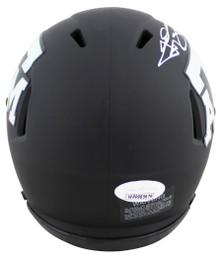 Texas A&M Johnny Manziel 12 Heisman Signed Eclipse Speed Mini Helmet JSA Witness