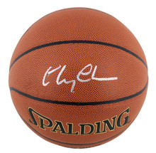 Chevy Chase Fletch Authentic Signed Spalding Basketball PSA/DNA Itp #7A92051
