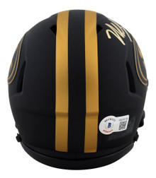 49ers Nick Bosa Authentic Signed Eclipse Speed Mini Helmet BAS Witnessed