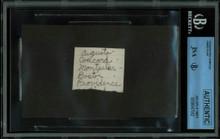 James Dean 1.5x2 Handwriting Sample from 5th Grade Notebook JSA Slabbed #8947582