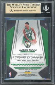 Celtics Jayson Tatum 2017 Panini Prizm Silver Prizms #16 Card Gem 9.5! BAS Slab