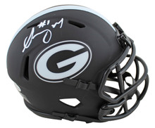 Georgia Sony Michel Authentic Signed Eclipse Speed Mini Helmet BAS Witnessed