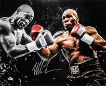 Mike Tyson Authentic Signed 16x20 Photo Vs Clifford Etienne Autographed BAS