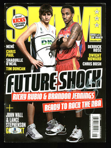 Brandon Jennings Authentic Signed SLAM Magazine Autographed BAS #B04223