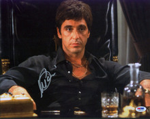 Al Pacino Scarface Authentic Signed 11x14 Photo Autographed PSA/DNA Itp #5A00194