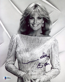 Linda Evans Dynasty Authentic Signed 8x10 Photo Autographed BAS #X70142