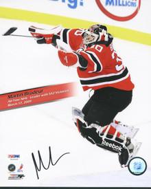 Devils Martin Brodeur Signed Authentic 8X10 Photo Autographed PSA/DNA #U43668