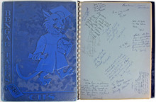 """Yankees Mickey Mantle """"With Best Wishes"""" Signed 1951 High School Yearbook JSA"""