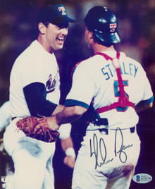 Rangers Nolan Ryan Authentic Signed 8x10 Photo Autographed BAS #X71374