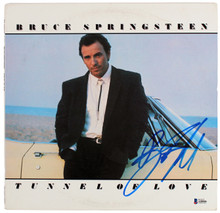 Bruce Springsteen Authentic Signed Tunnel of Love Album Cover BAS #A08006