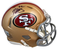 49ers Patrick Willis Authentic Signed Speed Mini Helmet Autographed BAS Witness