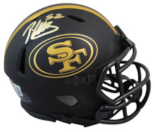 49ers Patrick Willis Authentic Signed Eclipse Speed Mini Helmet BAS Witnessed