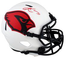 Cardinals Kyler Murray Signed Lunar Full Size Speed Rep Helmet BAS Witnessed
