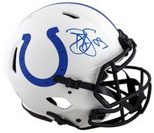 Colts Reggie Wayne Signed Lunar Full Size Speed Proline Helmet PSA/DNA Itp