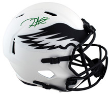 Eagles Jalen Hurts Authentic Signed Lunar Full Size Speed Rep Helmet PSA/DNA Itp