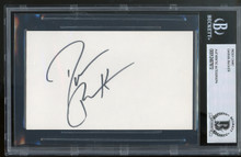 Darius Rucker Hootie and the Blowfish Authentic Signed 3x5 Index Card BAS Slab