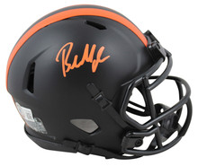 Browns Baker Mayfield Authentic Signed Eclipse Speed Mini Helmet BAS Witnessed