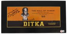 """Bears Mike Ditka """"HOF 88"""" Signed Kickoff Series Cigar Box LE #2,168/2,284 BAS"""