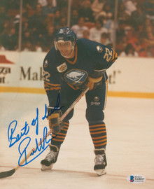 Sabres Rick Vaive Authentic Signed 8x10 Photo Autographed BAS #AA48227