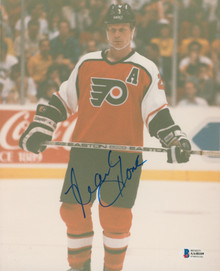 Flyers Mark Howe Authentic Signed 8x10 Photo Autographed BAS #AA48109