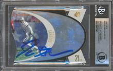 Cowboys Deion Sanders Authentic Signed 1997 SPX #36 Card BAS Slabbed