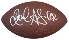 Falcons Jamal Anderson Signed Wilson Super Grip Nfl Football BAS Witnessed