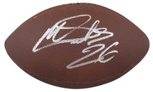 Eagles Miles Sanders Authentic Signed Wilson Super Grip Nfl Football BAS Witness