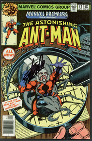 Stan Lee Authentic Signed The Astonishing Ant-Man #47 Comic Book PSA/DNA #Z04185