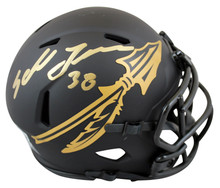 Florida State Sebastian Janikowski Signed Eclipse Speed Mini Helmet BAS Witness