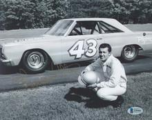 NASCAR Richard Petty Authentic Signed 8x10 Black & White Photo BAS #Z99402