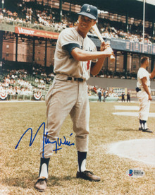 Dodgers Maury Wills Authentic Signed 8x10 Photo Autographed BAS #H90310