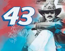 NASCAR Richard Petty Authentic Signed 8x10 Photo Autographed BAS #Z99407