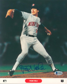Twins Frank Viola Authentic Signed 8x10 Photo Autographed BAS #AA48214