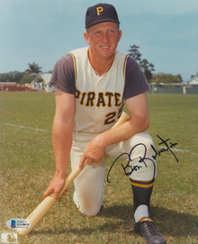 Pirates Bob Robertson Authentic Signed 8x10 Photo Autographed BAS #AA48075