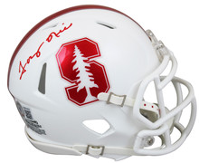 Stanford Tony Hill Authentic Signed White Speed Mini Helmet BAS Witnessed