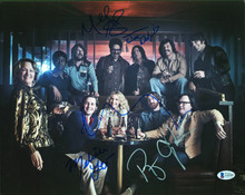 I'm Dying Up Here(4) Leo, Graynor, Cyler, Angarano & Daly Signed 11x14 Photo BAS