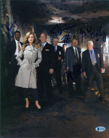 The Closer (5) Reynolds, Bailey, Gussett, Denison & +1 Signed 11x14 Photo BAS 2