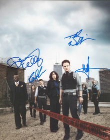 Chicago Code (4) Laura, Kelley, Lush & Williams Signed 11x14 Photo BAS #AA03482