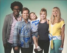 Ben & Kate (4) Faxon, Jones, Punch & Kellum Signed 11x14 Photo BAS #AA03476
