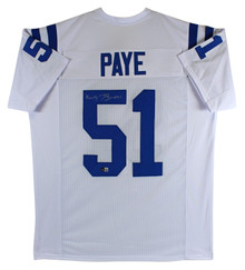 Kwity Paye Authentic Signed White Pro Style Jersey Autographed BAS Witnessed