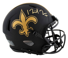 Saints Michael Thomas Signed Eclipse Full Size Speed Proline Helmet BAS Witness