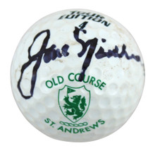 Jack Nicklaus Authentic Signed St. Andrews Old Course Logo Golf Ball JSA BB15064
