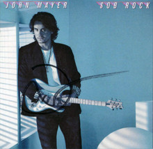 John Mayer Authentic Signed SOB Rock CD Insert Autographed BAS #BA96914