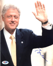 President Bill Clinton Authentic Signed 8X10 Photo Autographed PSA/DNA #AB08241