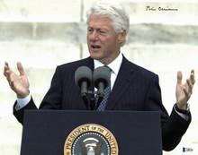 Bill Clinton Authentic Signed 11x14 Photo Autographed BAS #A88705