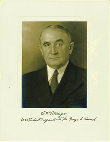 Charles H. Mayo (Mayo Clinic) Authentic Signed 10x13 Photo PSA/DNA #Y01659