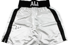 Muhammad Ali Authentic Signed Ali Boxing Trunks Autographed PSA/DNA #4A01728
