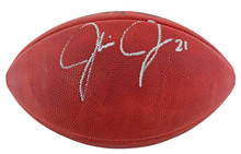 Cowboys Julius Jones Authentic Signed Official Nfl Football BAS #BB22953