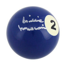Willie Mosconi Authentic Signed Billiards Pool #2 Ball Autographed PSA #Y43981